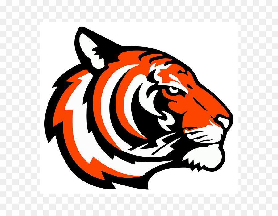 Orange Tiger Logo PNG Cat Logo Clipart download.
