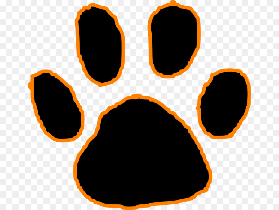 Tiger Paw clipart.