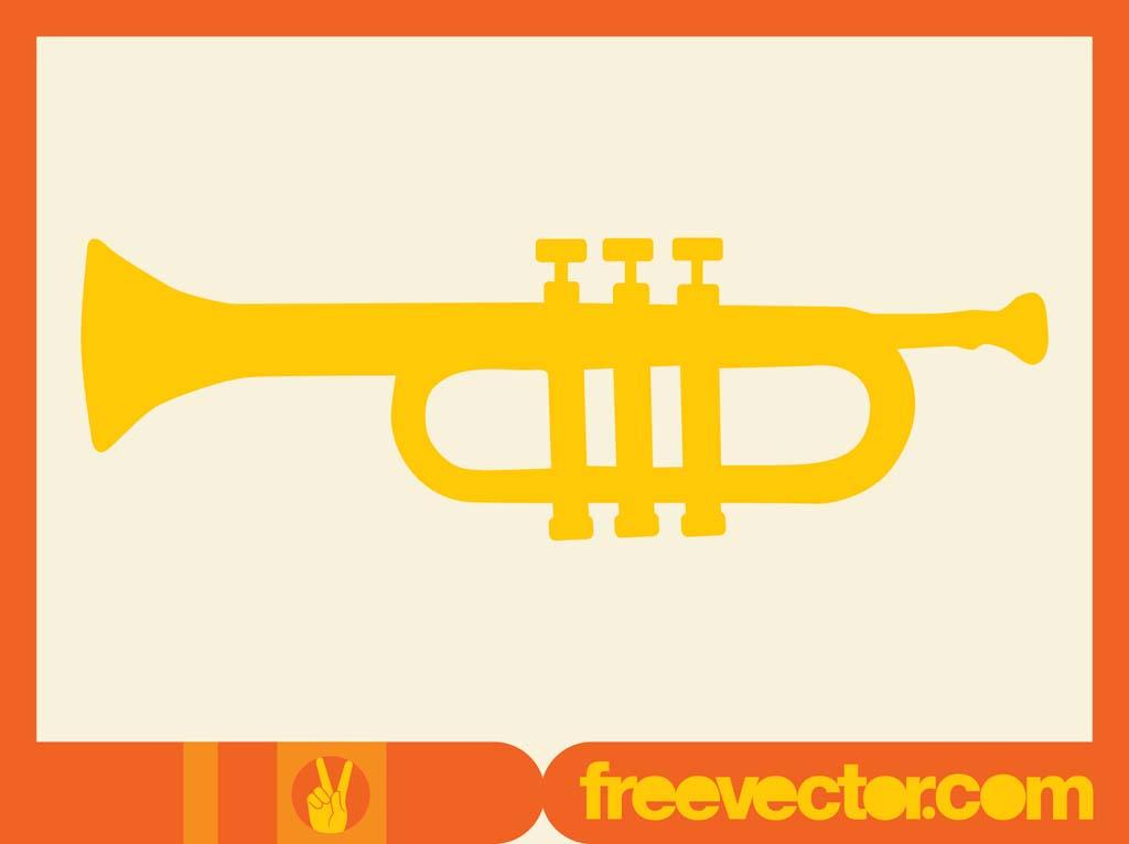 Trumpet Clip Art Vector Art & Graphics.