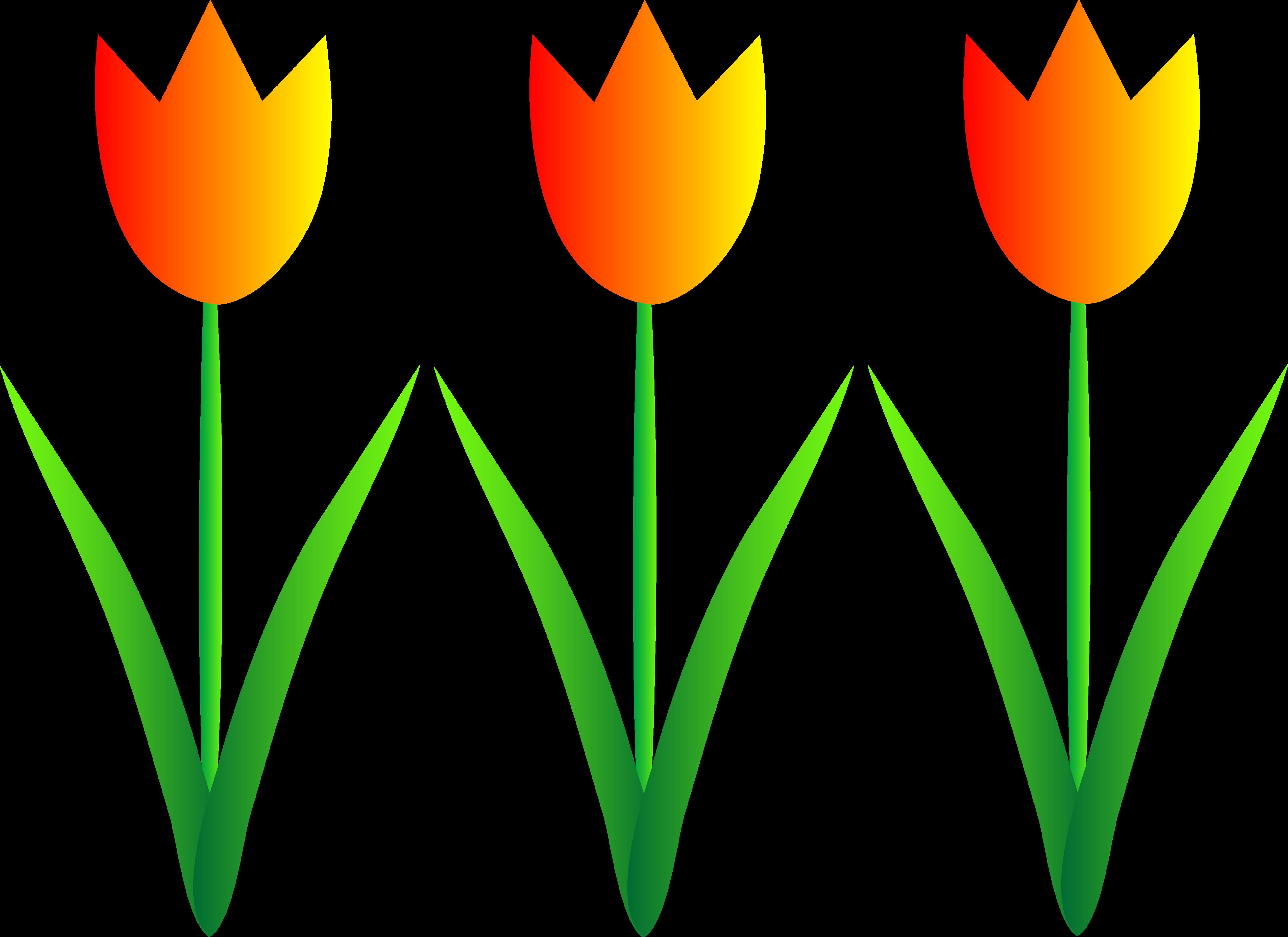 Tulip Clip Art.