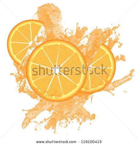 Orange Water Splash Stock Vectors & Vector Clip Art.