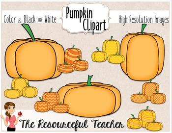 Pumpkins Clipart Bundle.