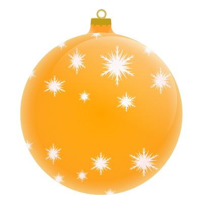 Orange and gold clipart.