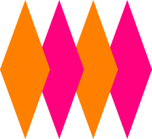 Orange And Pink Clip Art at Clker.com.