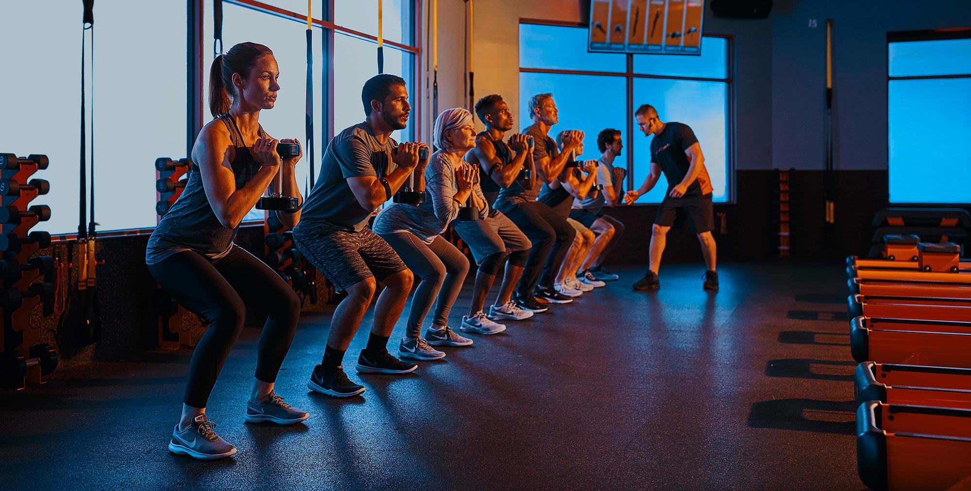 Orangetheory Fitness.