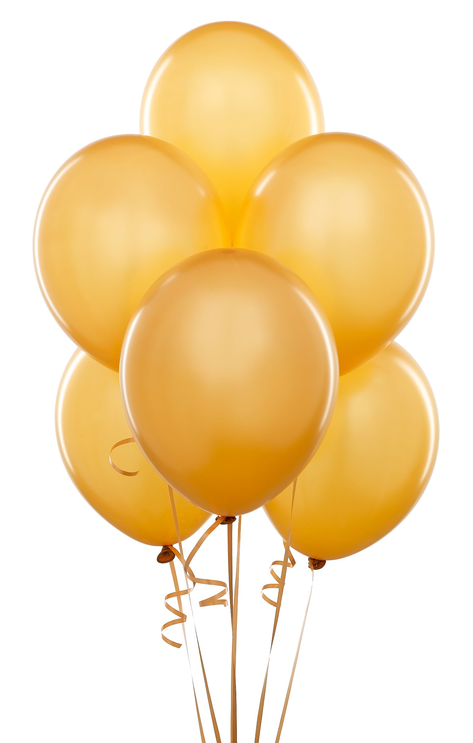 Balloons clipart green and gold.