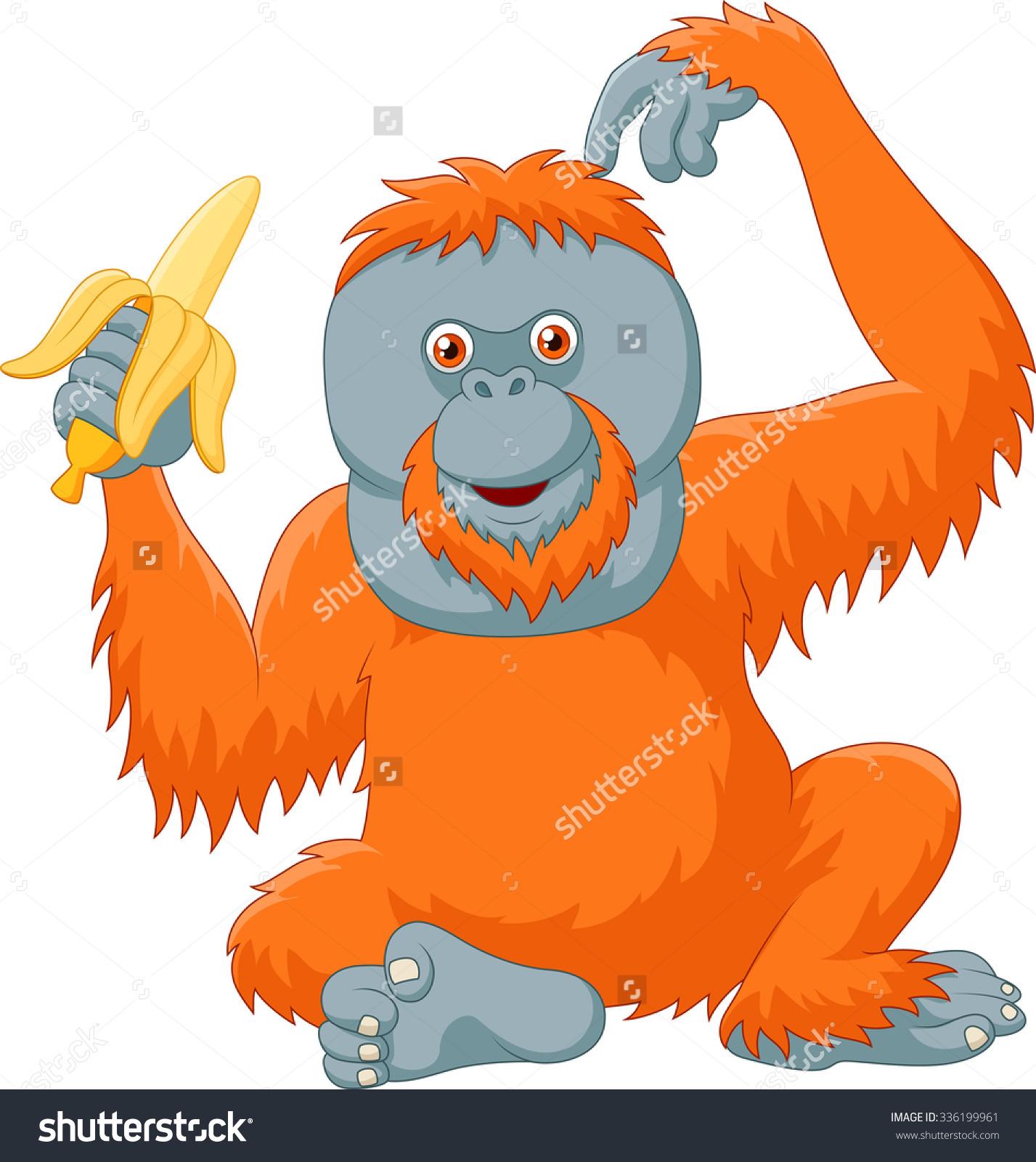 Smiling Orangutan Stock Vectors & Vector Clip Art.