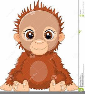 Orangutan Clipart.