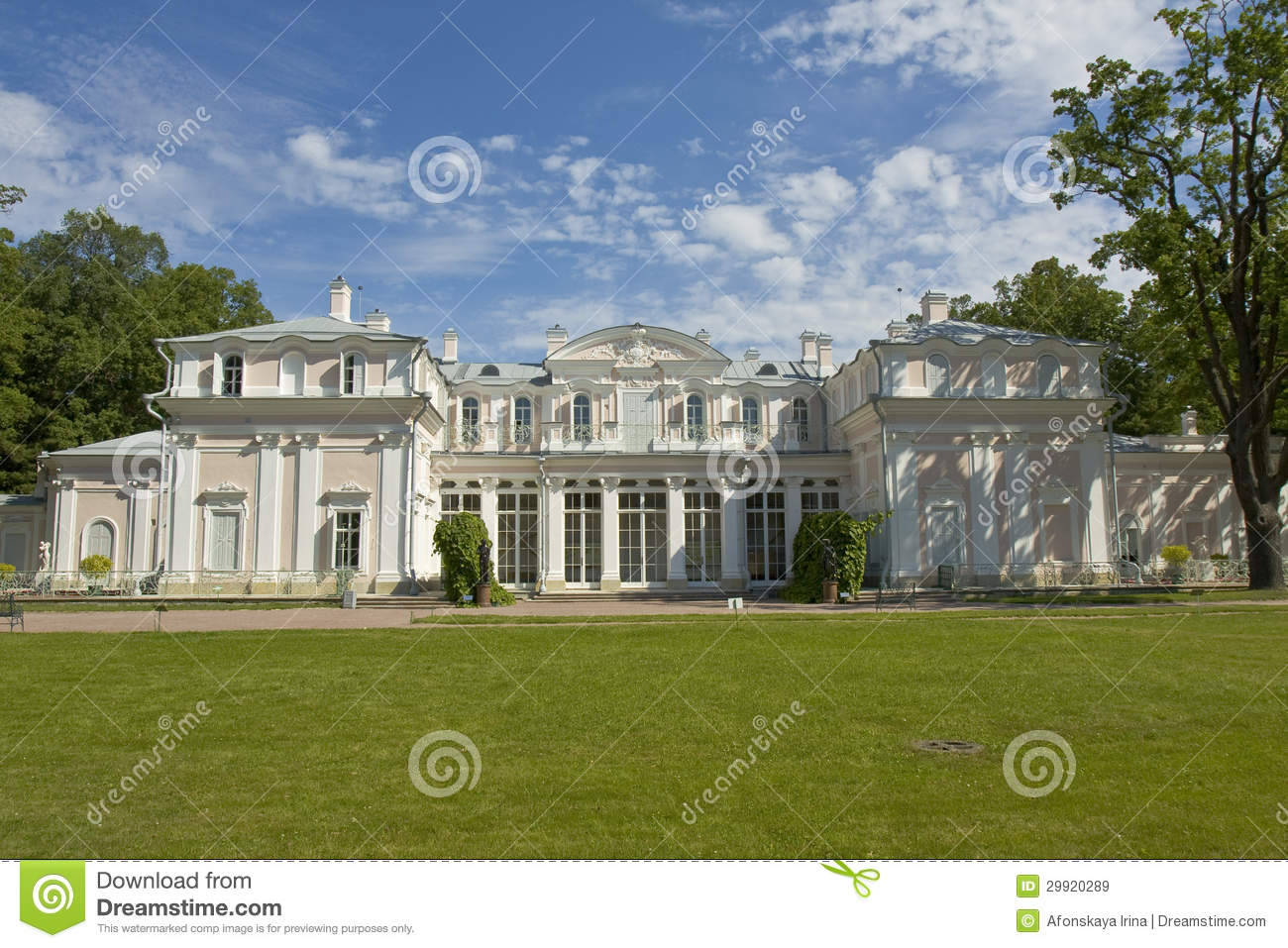 Chinese Palace In Oranienbaum, Russia Royalty Free Stock Images.