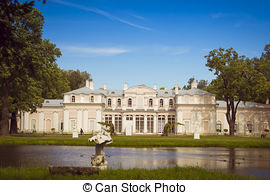 Stock Image of Chinese palace. Oranienbaum.