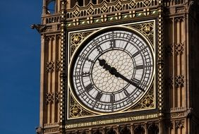 Big Ben against the sky free image.
