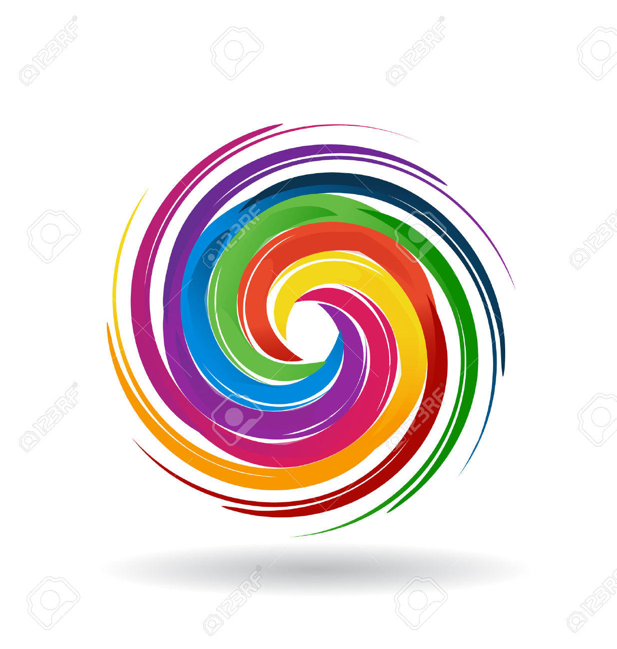 Spiral Orb Web Cliparts, Stock Vector And Royalty Free Spiral Orb.