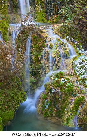 Imágenes de orbaneja, cascada.