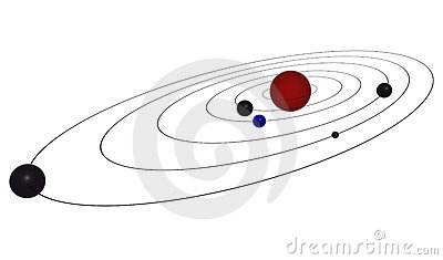 Planet orbit clipart.