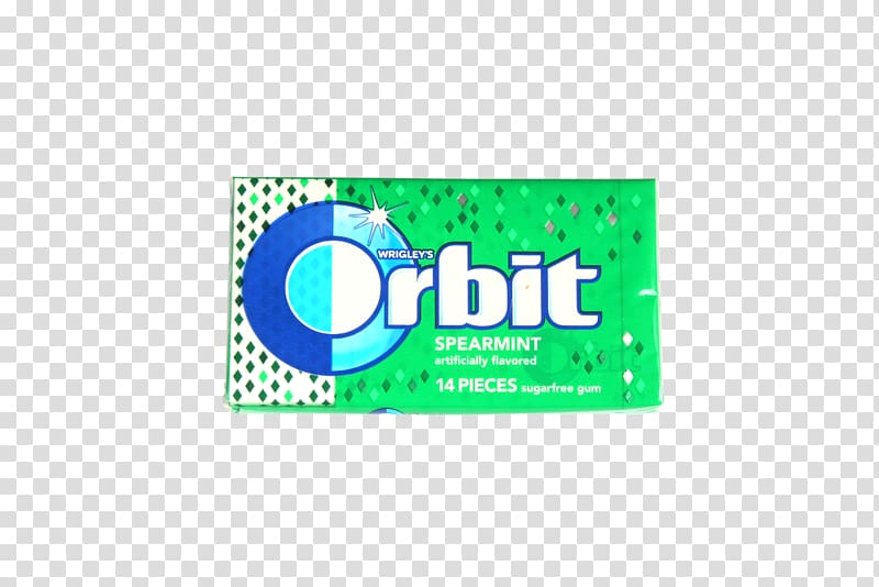 Chewing gum Mentha spicata Peppermint Orbit Candy, gum.