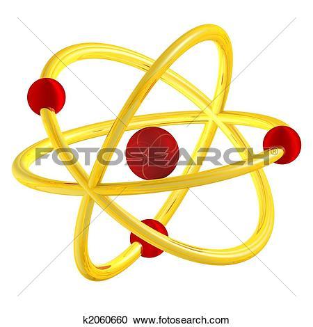 Stock Illustrations of abstract orbital shape k2060660.