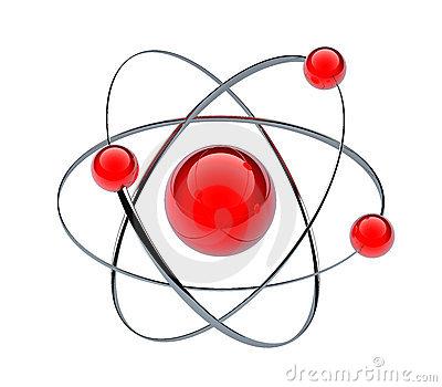3d Orbital Atom Stock Illustrations.