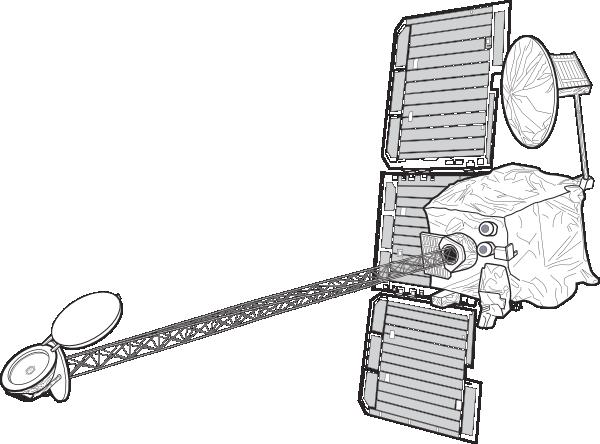 Mars Orbiter clip art Free Vector / 4Vector.