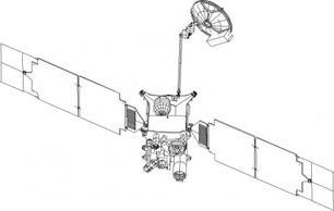 Mars Orbiter clip art Free Vector.