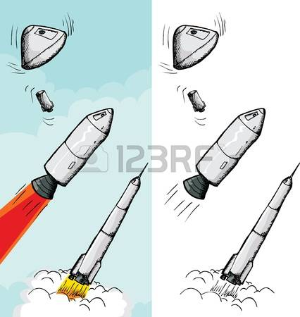 116 Rocket Orbiter Stock Vector Illustration And Royalty Free.
