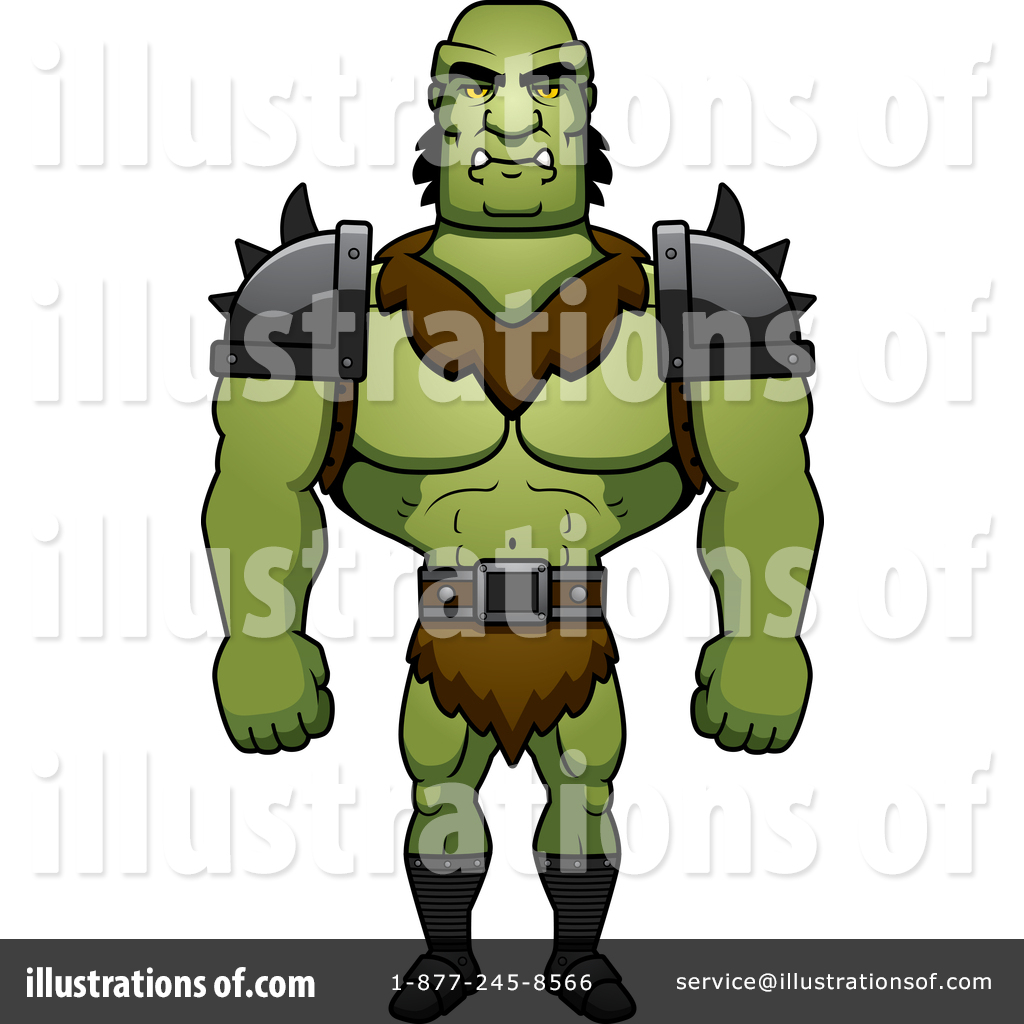 Orc Clipart #1389189.