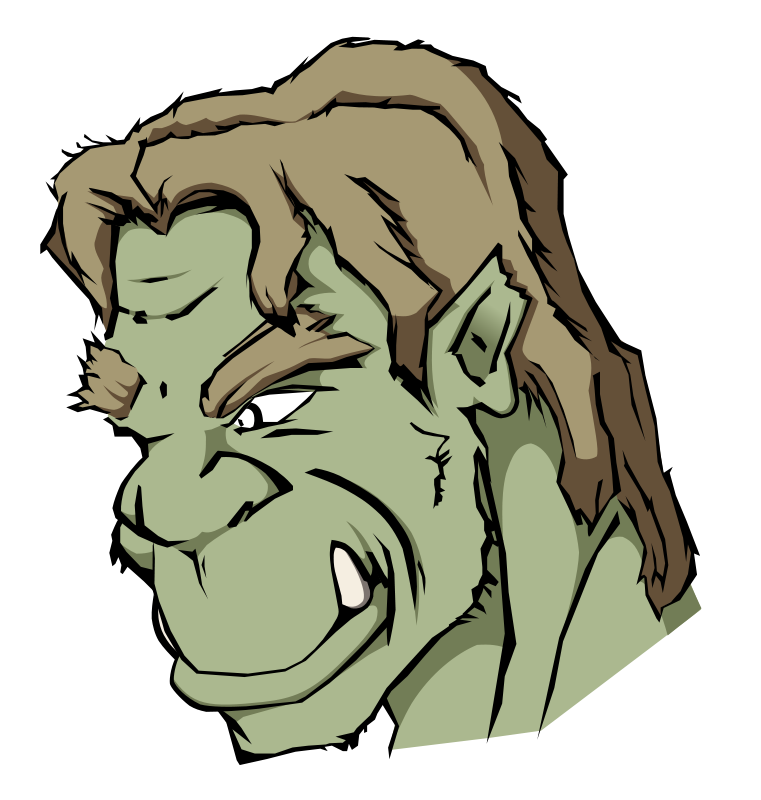 Free Clipart: Orc.