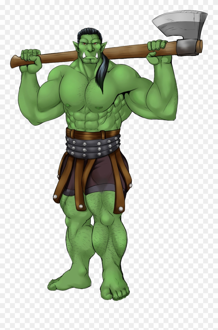 Anime Orc Clipart (#1802683).