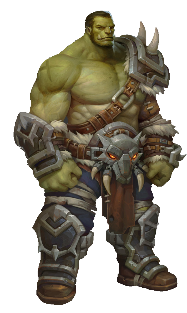 Orc PNG Image.