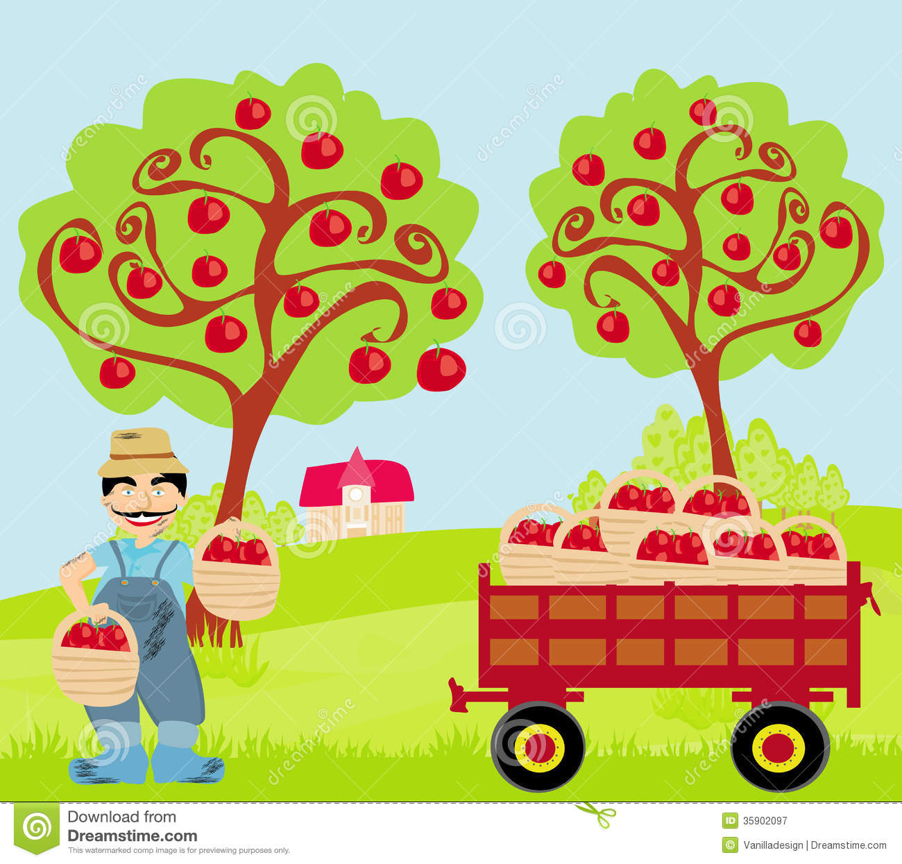 Orchard Clipart.