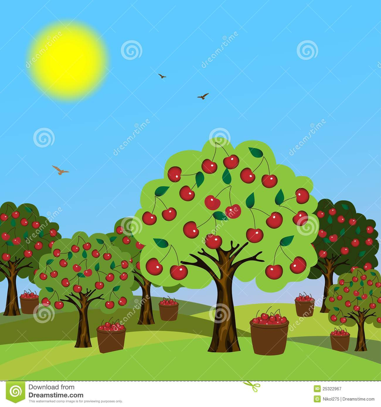Orchard clipart images free.