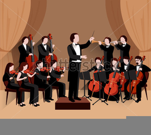 Free Clipart Symphony Orchestra.