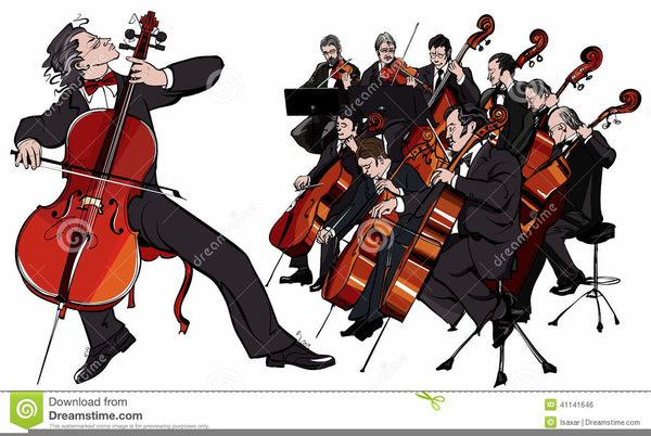 Free String Orchestra Clipart.