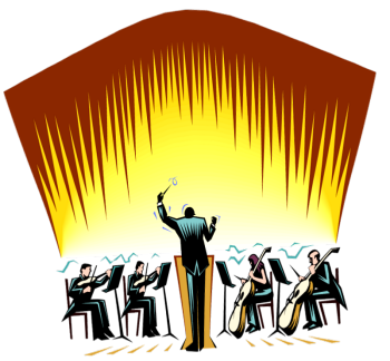 Orchestra Clipart.