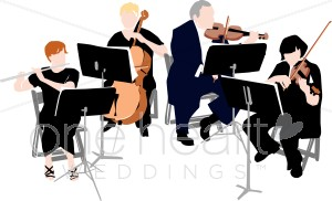 String Orchestra Instruments Clipart.