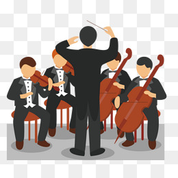 Orchestra Conductor Clipart.