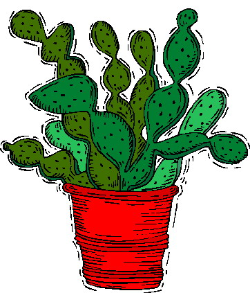 All Cliparts: Cactus Clipart.