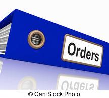 Sales Order Clipart.