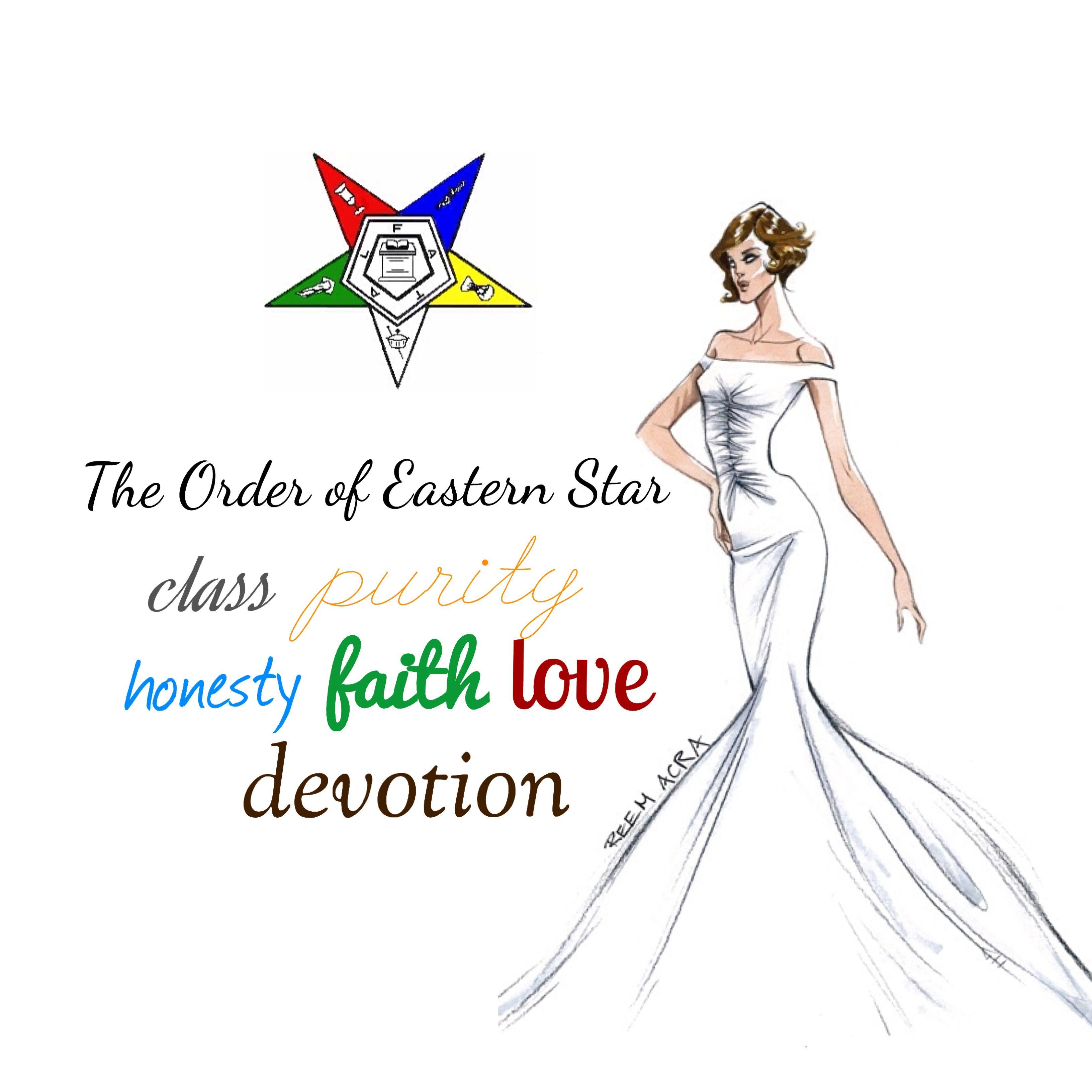 Order of Eastern Star clip art I designed! Come visit.