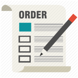 Order Form clipart.