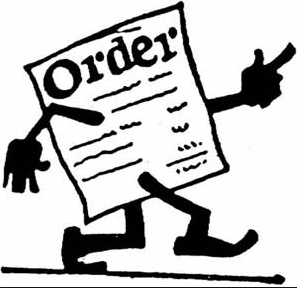 Work Order Forms.