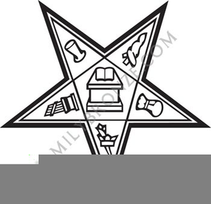 Eastern Star Emblems Clipart.