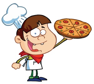 Pizza Clipart Image.