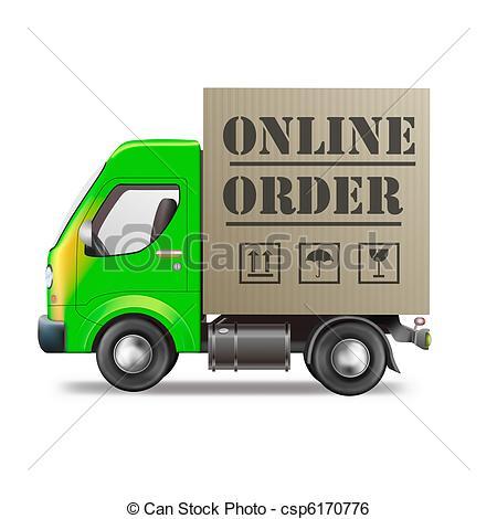 Online Ordering Clip Art.