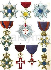 Historical Orders of Chivalry & Military 1820 Templar Teutonic.