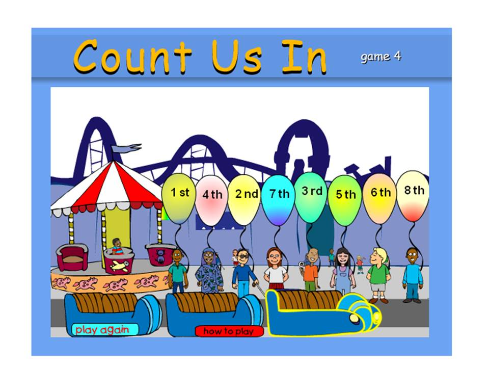 Clipart ordinal number houses.