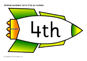 Ordinal Number Teaching Resources.