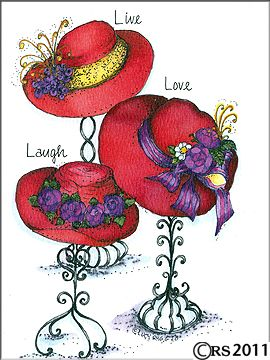 1000+ images about Red Hat Society on Pinterest.