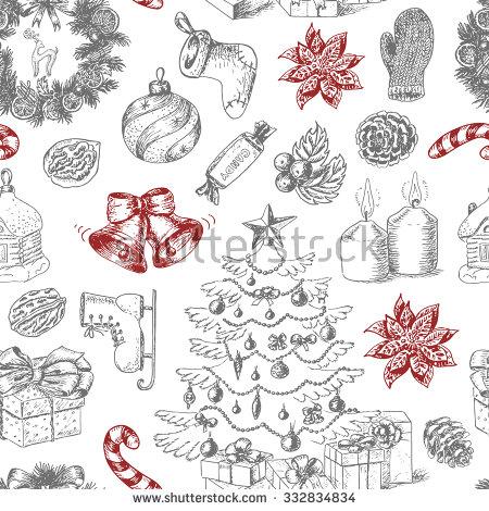 Traditional Christmas Stock Photos, Royalty.