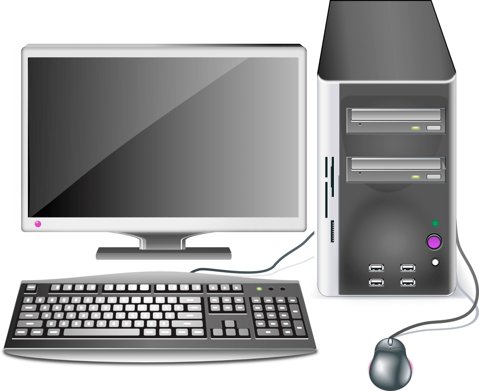Clipart ordinateur 2 » Clipart Portal.