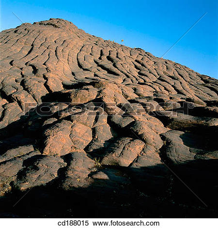 Stock Image of Iron Ore Mountain. Xinjiang. China cd188015.